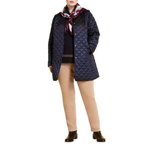 Marina Rinaldi Plus Size Panarea Short Quilted Jacket - Size: 18 - DARK NAVY