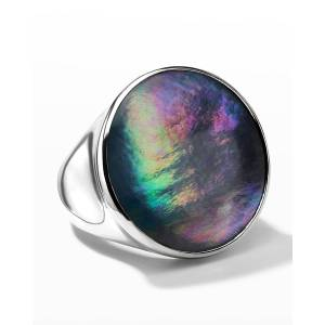 Ippolita Rock Candy Luce Sculptured Round Ring in Black Triplet, Size 7 - Size: 7 - CQMOPNX