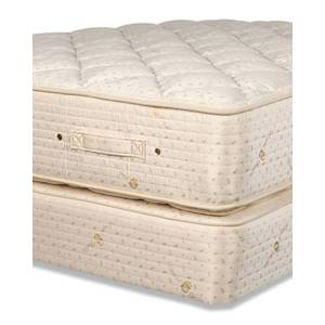 Royal-Pedic Dream Spring Classic Plush King Mattress Set - Size: KING BED - GOLD