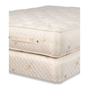 Royal-Pedic Dream Spring Ultimate Firm Queen Mattress Set - Size: QUEEN BED - GOLD