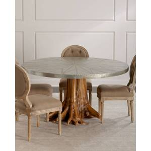 Sorrell Teak Root Dining Table - Size: unisex