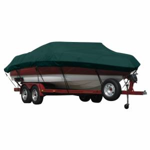Covermate Exact Fit Covermate Sunbrella Boat Cover for Calabria Pro Comp Xts Pro Comp Xts W/Tower Doesn't Cover Platform. Forest Green