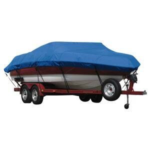 Covermate Exact Fit Covermate Sunbrella Boat Cover for Bayliner Capri 205 Br Capri 205 Bowrider W/Bimini Cutouts Covers Int Platform I/O. Pacific Blue