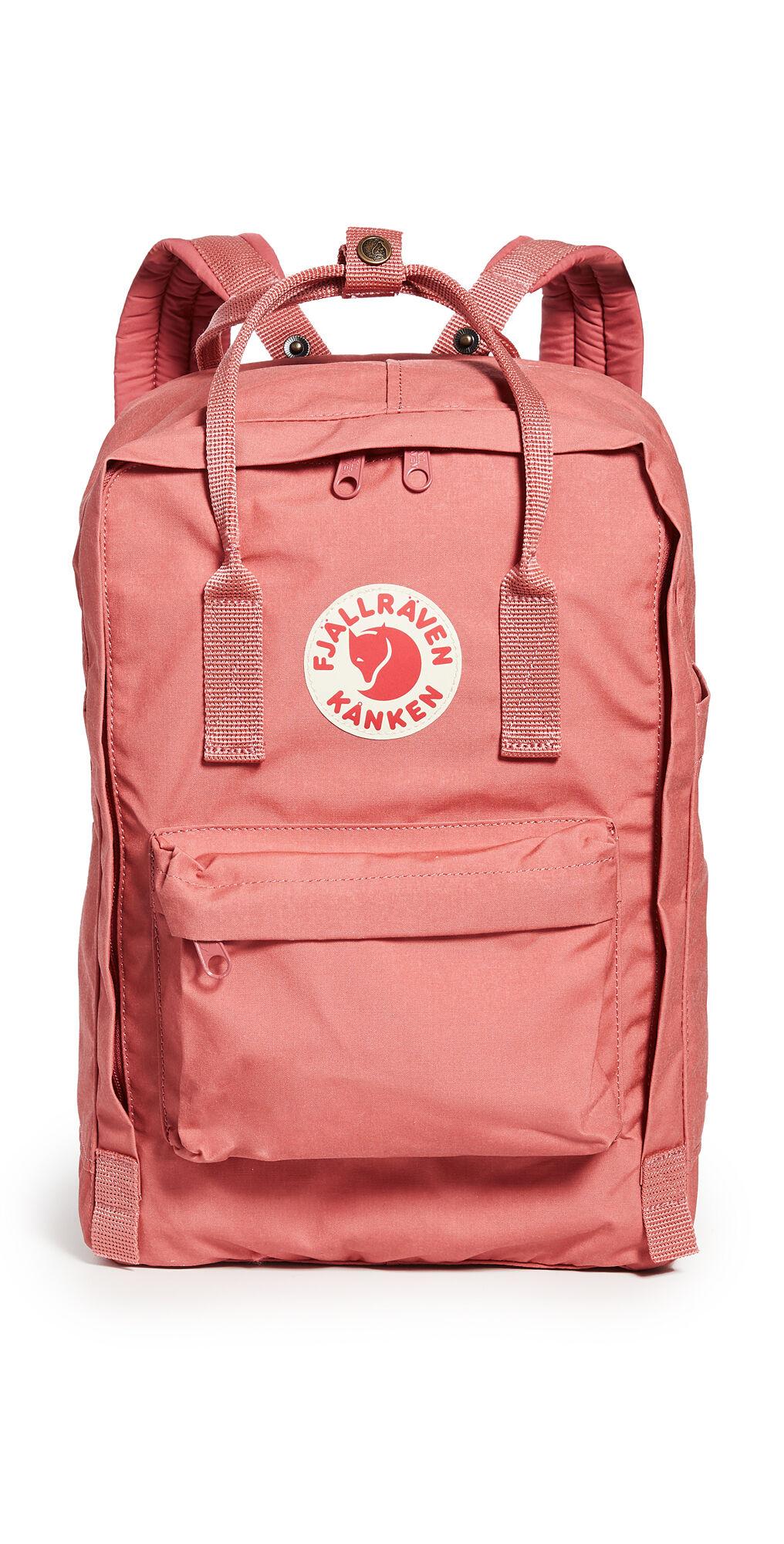 "Fjallraven Kanken 15 Laptop Backpack""  - Dahlia - Size: One Size"