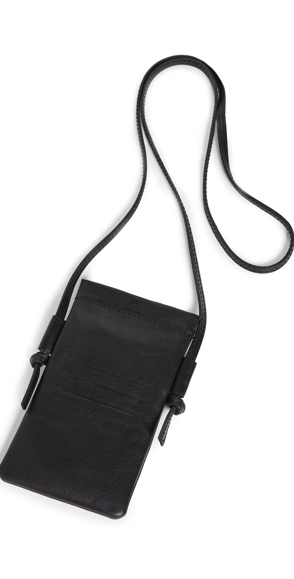 Madewell iPhone Crossbody Bag  - True Black - Size: One Size