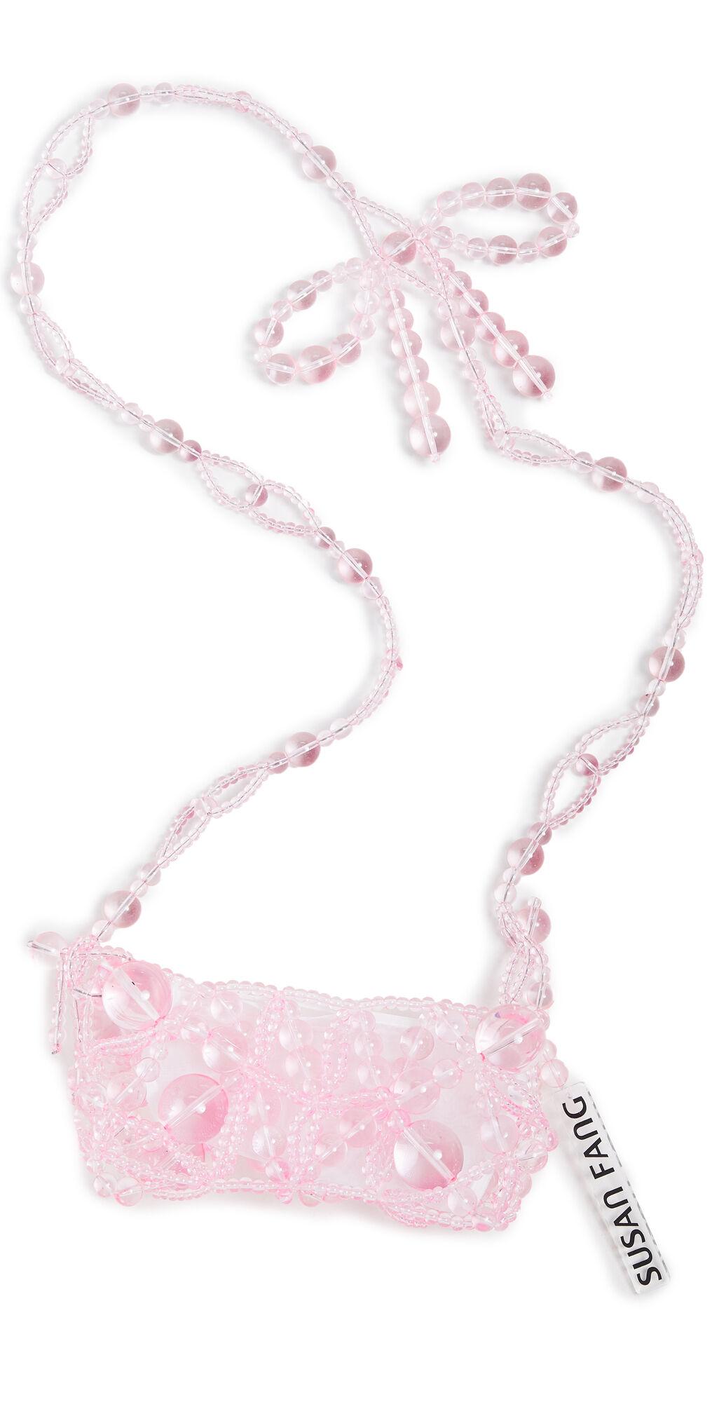 Susan Fang Bubble Pow Phone Crossbody Bag  - Pink - Size: One Size