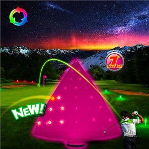 Night Golf LED Pyramid Target by Windy City Novelties