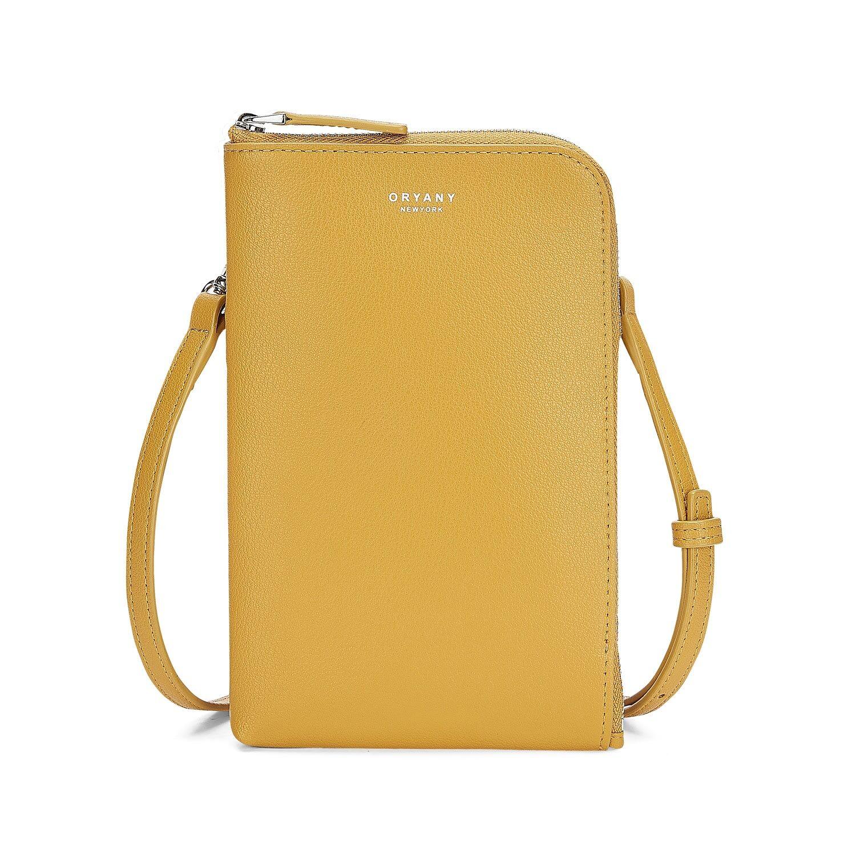 Oryany Women's Yellow Bonnie Phone Wallet Shadow Oryany