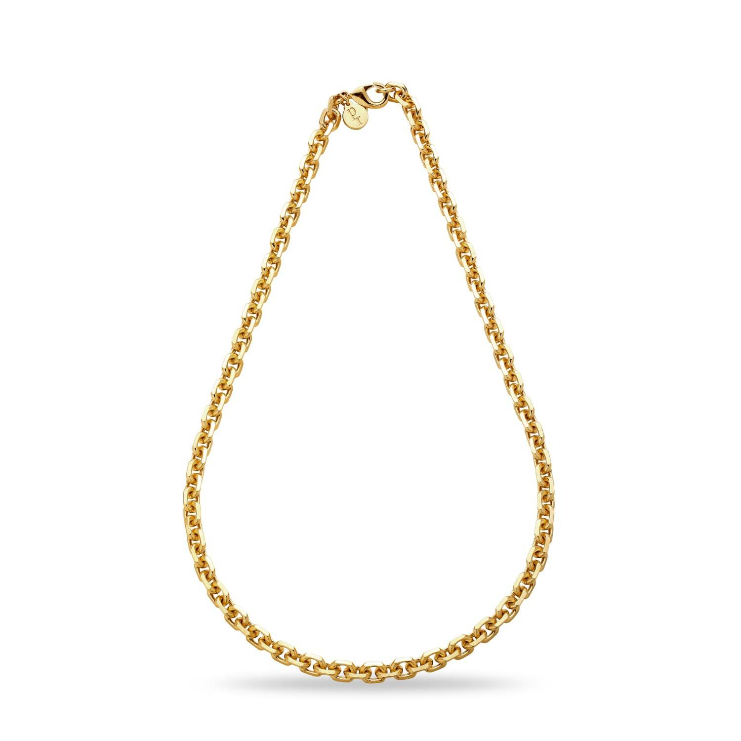Patty Rose Jewellery Women's Recycled Gold Brass Chain No.10 Necklace Patty Rose Jewellery