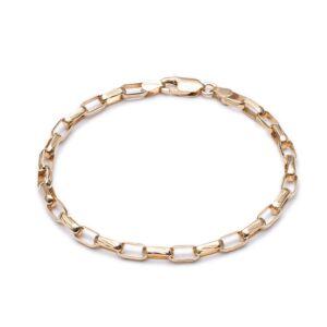 Jackson Women's Gold Box Chain Bracelet Rachel Jackson
