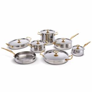 Ondine Silver Brass Platine Set Ondine