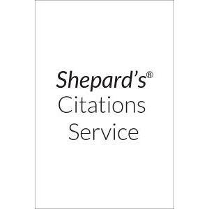 Shepard's California Citations