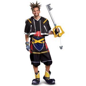 Disney Deluxe Disney Kingdom Hearts Sora Men's Costume