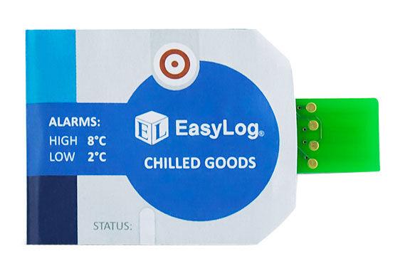 Lascar Electronics Lascar EL-CC-1-001 PK10 EasyLog Single-use Chilled Goods Temperature Data Logger, 10 pack