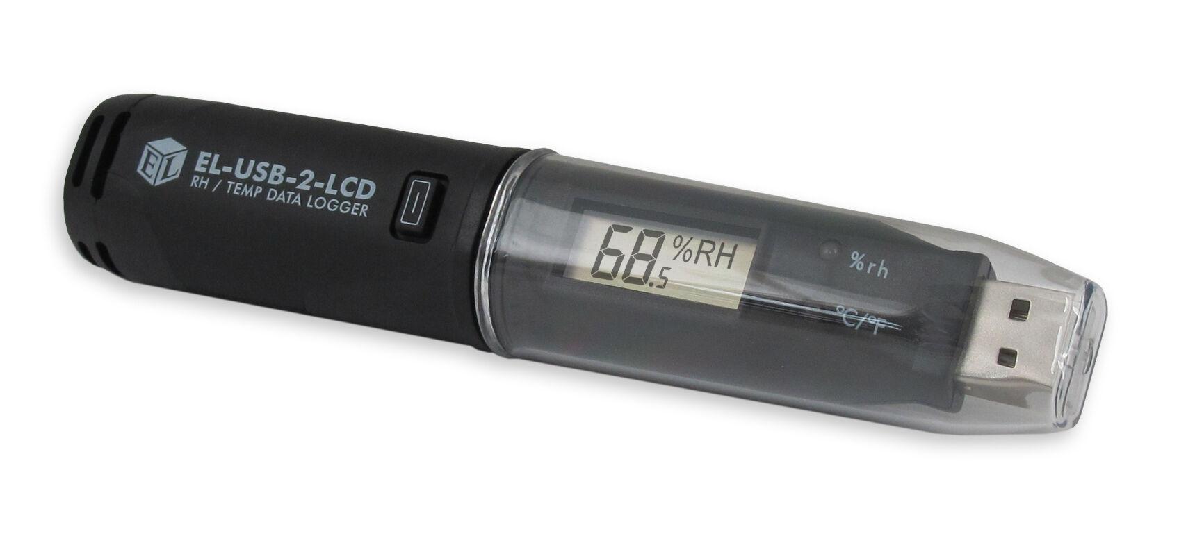 Lascar Electronics Lascar EL-USB-2-LCD EasyLog USB Temperature/Humidity Data Logger with LCD