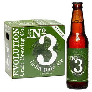 Evolution Lot No. 3 IPA 12 pack Bottles