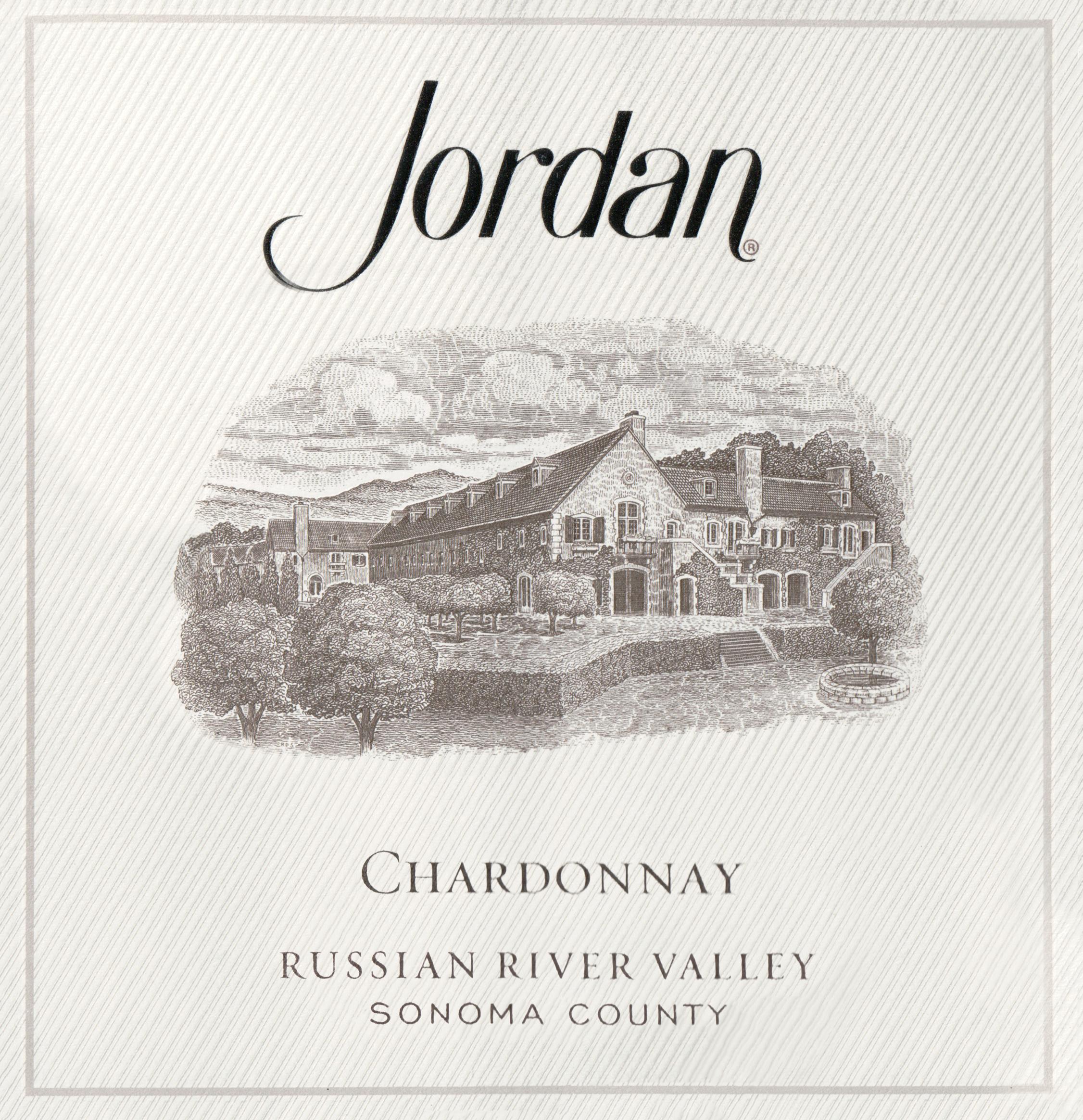 Jordan Vineyard Chardonnay 2018
