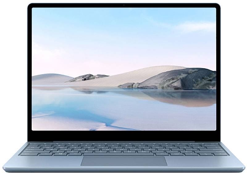 "Microsoft Surface Go Ice Blue 12.4"" Laptop Intel i5-1035G1 8GB RAM 256GB SSD, Intel UHD Graphics"