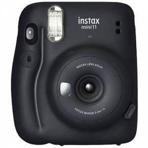 Fuji Instax Mini 11 Charcoal Gray Instant Camera