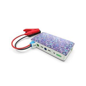 HALO Bolt 58830 Portable AC Car Jump Starter (Violet Paisley)