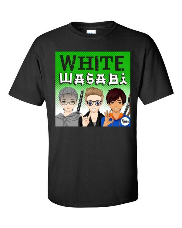 Moot.tv Shop White Wasabi Title Card t-shirt Sport Grey / 4XL