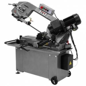 Jet 8 In. x 14 In. Geared Head Horizontal Band Saw 1 HP, 1Ph