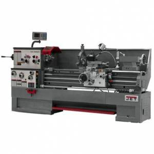 Jet Gear Head 16 x 60 ZX Lathe with Newall Dp700 DRO and Collet Closer