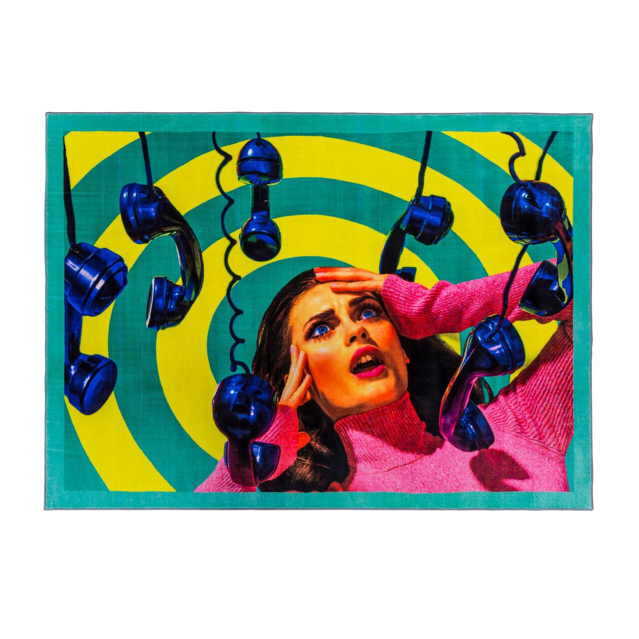 Seletti Phones Rug