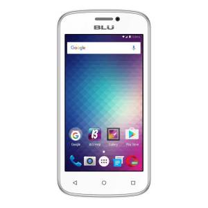 BLU Advance Cell Phone Unlocked, White, PBN201141