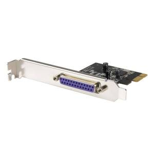StarTech.com 1 Port PCI Express Dual Profile Parallel Adapter Card - SPP/EPP/ECP - 1 x 25-pin DB-25 IEEE 1284 Parallel