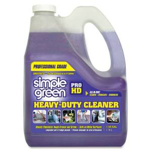 Simple Green Pro HD All-In-One Heavy-Duty Cleaner - Concentrate Liquid - 128 fl oz (4 quart) - 1 Each - Clear