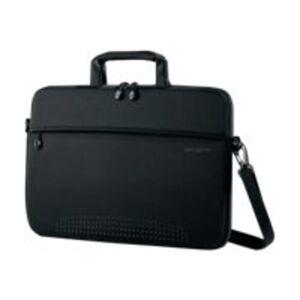 "Samsonite Aramon NXT Carrying Case for 17"" Notebook - Black - Neoprene - Handle, Shoulder Strap - 15.9"" Height x 17.3"" Width x 1"" Depth - 1 Pack"