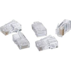 IDEAL 85-396 Network Connector - 50 Pack - RJ-45 Network Male