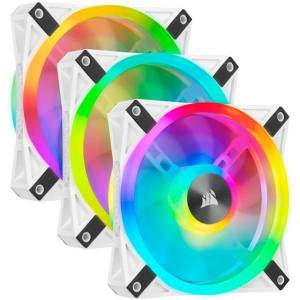 CORSAIR MEMORY, INC. CORSAIR iCUE QL120 RGB - System cabinet fan kit - 120 mm