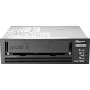 "HPE LTO-5 Ultrium 3000 SAS Internal Tape Drive - LTO-5 - 1.50 TB (Native)/3 TB (Compressed) - SAS - 5.25"" Width - 1/2H Height - Internal - 142.22 MB/s"