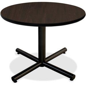"Lorell� Hospitality Round Table Top, 42""W, Espresso"