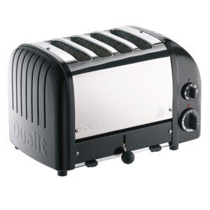 Dualit� NewGen Extra-Wide-Slot Toaster, 4-Slice, Matte Black