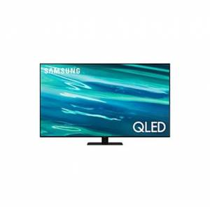 "Samsung 55""   Q80A   QLED   4K UHD   Smart TV   QN55Q80AAFXZA   2021 - Q HDR - Full Array LED Backlight - 3840 x 2160 Resolution"