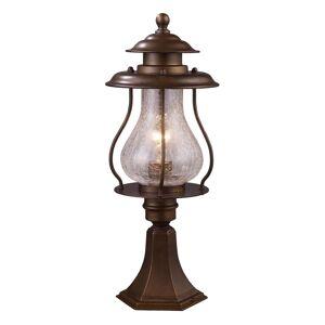 ELK Lighting Wikshire 20 Inch Tall 1 Light Outdoor Post Lamp Wikshire - 62007-1 - Farmhouse
