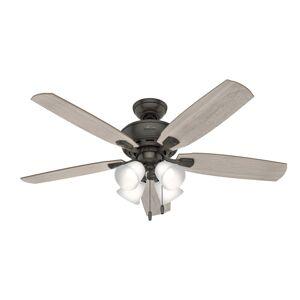 Hunter Fan Amberlin 52 Inch Ceiling Fan with Light Kit Amberlin - 53215 - Transitional