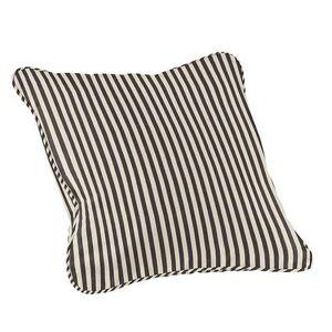 Ballard Designs Outdoor Fashion Throw Pillow - Select Colors Windowpane Black Sunbrella Bolster - Ballard Designs