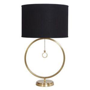 Ballard Designs Avery Ring Table Lamp Black Shade - Ballard Designs