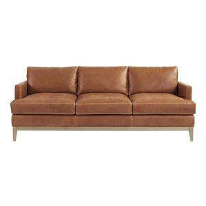 Ballard Designs Hartwell Leather Sofa - Ballard Designs