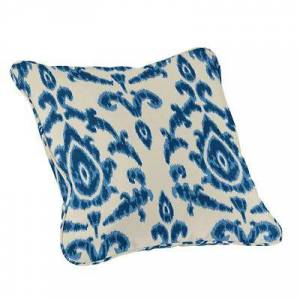 "Ballard Designs ""Outdoor Fashion Throw Pillow - Select Colors Seneca Stripe Rust Sunbrella 20"""" x 20"""" - Ballard Designs"""