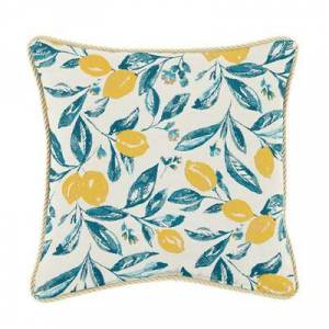 Ballard Designs Corded Pillow 12 inch x 20 inch - Select Colors Windowpane Petal Sunbrella - Ballard Designs