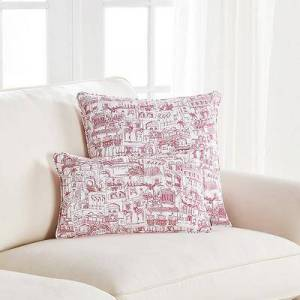 "Ballard Designs ""Almeria Pillow Cover 20"""" x 20"""" - Ballard Designs"""