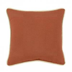 Ballard Designs Corded Pillows - 20 inch square - Select Colors Windowpane Granite - Ballard Designs