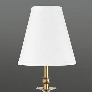 Ballard Designs Couture Buffet Lamp Shade Ivory Silk Bell - Ballard Designs