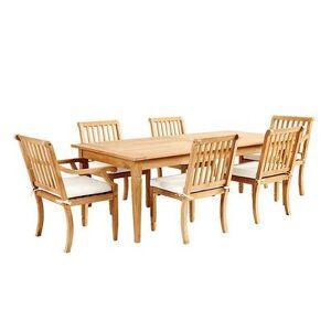 Ballard Designs Madison 7-Piece Rectangular Dining Set with Cushions - Ballard Designs