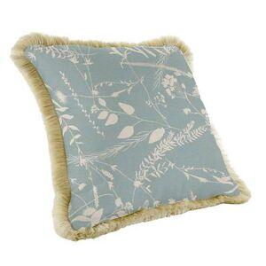Ballard Designs Fringed Pillow - 20 inch square - Select Colors Windowpane Spa Sunbrella - Ballard Designs